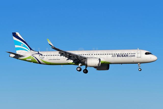 Air Busan (Air Busan.com) Airbus A321-251NX WL D-AYAO (HL8396) (msn 10253) XFW (Gerd Beilfuss). Image: 953401.