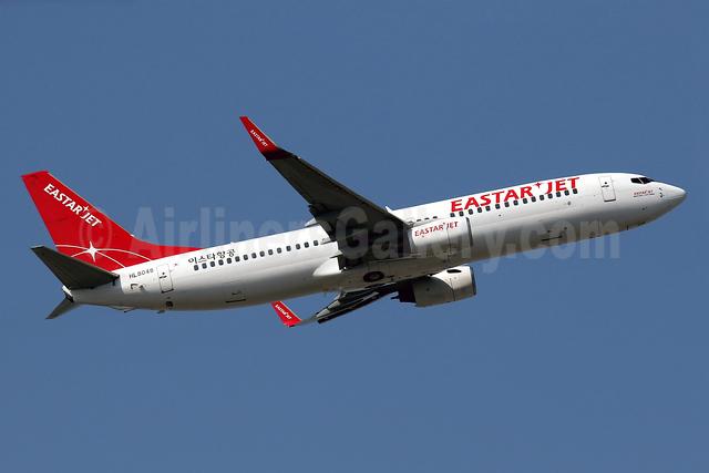 Eastar Jet Boeing 737-808 WL HL8048 (msn 34710) HKG (Javier Rodriguez). Image: 935990.