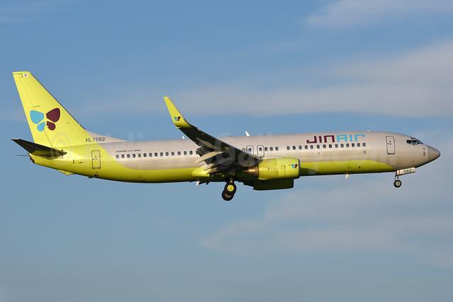 Jin Air Boeing 737-8B5 WL HL7562 (msn 29983) NRT (Rolf Wallner). Image: 939361.