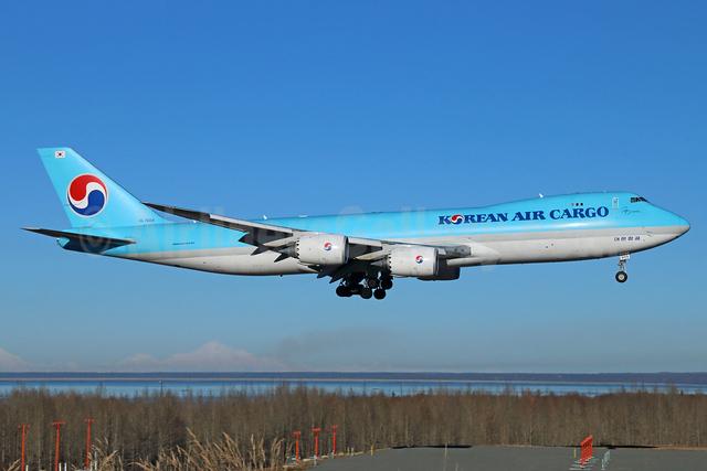 Korean Air Cargo Boeing 747-8HTF HL7609 (msn 37132) ANC (Michael B. Ing). Image: 925055.