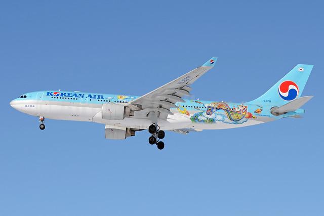 Korean Air Airbus A330-223 HL8211 (msn 1133) (Future Artist Olympiad - 4th Children's Art) SVO (OSDU). Image: 911702.