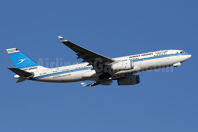 Kuwait Airways Airbus A330-243 9K-APD (msn 1678) LHR (SPA). Image: 935224.
