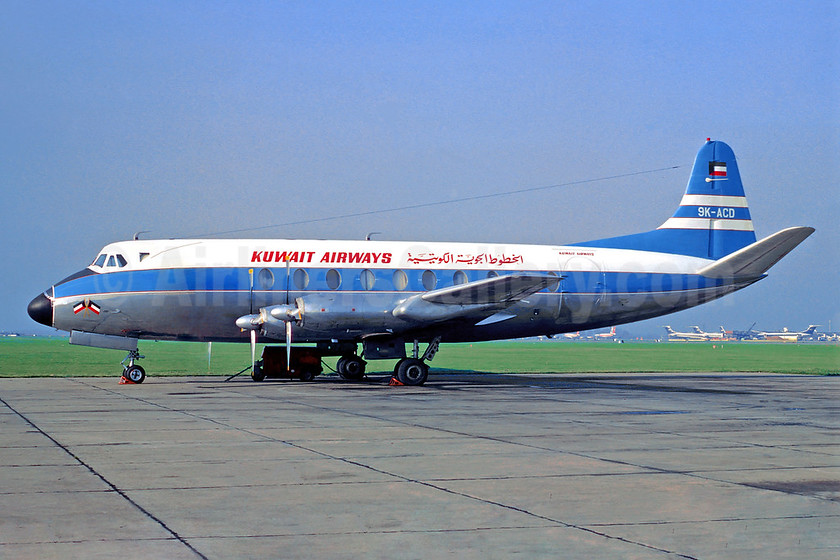 Airline Color Scheme - Introduced 1955