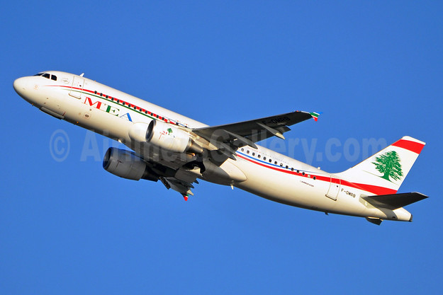 MEA-Middle East Airlines Airbus A320-214 F-OMRB (msn 5152) BRU (Karl Cornil). Image: 910515.