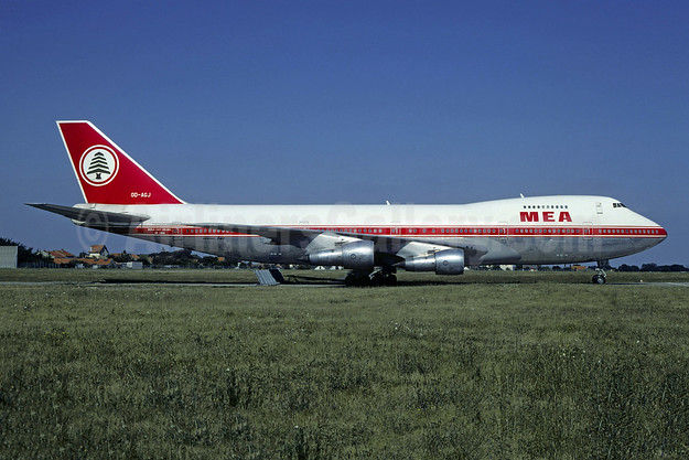 MEA-Middle East Airlines Boeing 747-2B4B OD-AGJ (msn 21099) ORY (Christian Volpati). Image: 955445.