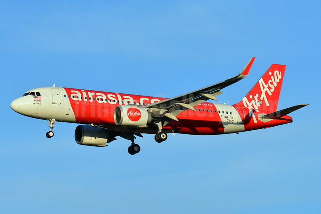 First Airbus A320neo for AirAsia, delivered on September 7, 2016