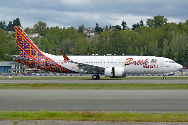 Batik Malaysia becomes the first operator of the Boeing 737 MAX 8