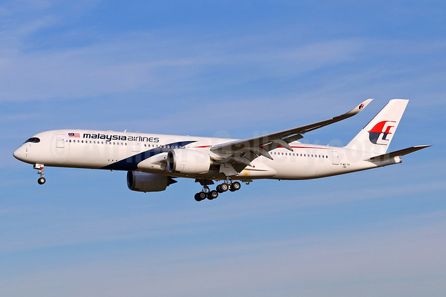 Malaysia Airlines' first Airbus A350-900