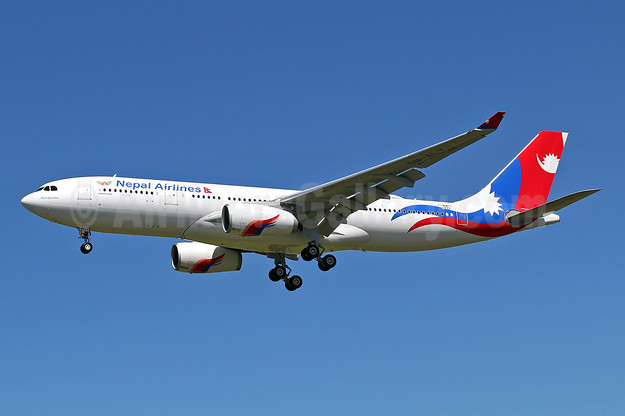 """Annapurna"", the first Airbus A330 for Nepal Airlines"