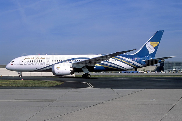 Oman Air Boeing 787-8 Dreamliner A40-SZ (msn 36046) FRA (Jacques Guillem Collection). Image: 942569.
