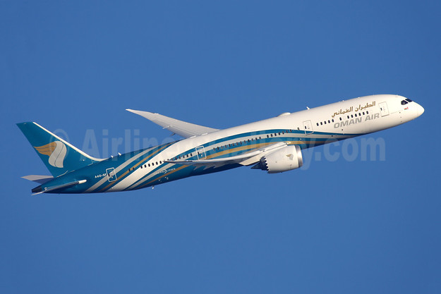 Oman Air Boeing 787-9 Dreamliner A40-SF (msn 39294) LHR (Antony J. Best). Image: 944865.
