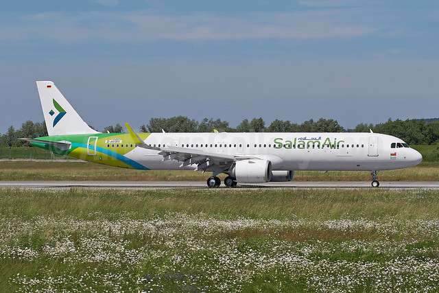 """""""Masirah"""", 1st A321neo, will become A40-OXA"""