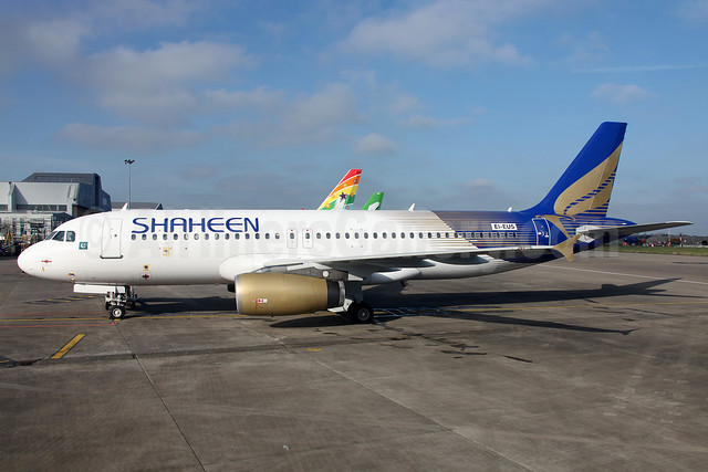 Shaheen Air International Airbus A320-232 EI-EUS (AP-BLJ) (msn 1497) DUB (Greenwing). Image: 911115.
