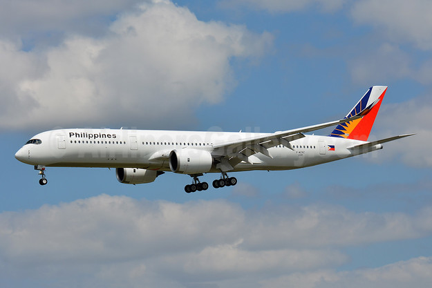 Philippines (Philippine Airlines) Airbus A350-941 F-WZNZ (RP-C3503) (msn 228) TLS (Paul Bannwarth). Image: 942986.