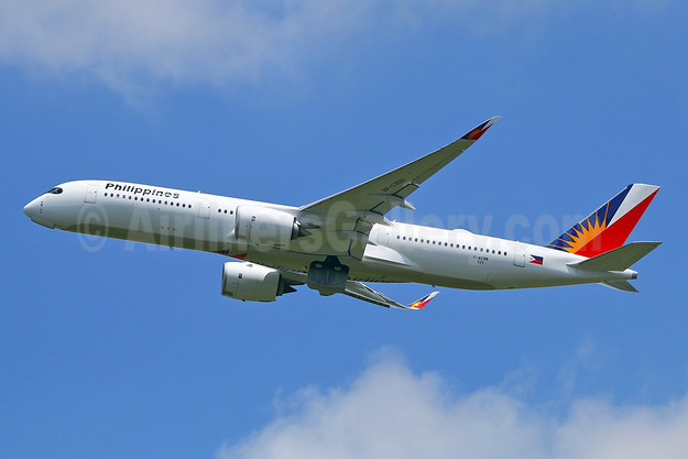 First flight June 7, 2018, first Philippines Airbus A350-900