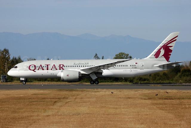 Qatar Airways Boeing 787-8 Dreamliner A7-BCL (msn 38330) PAE (Nick Dean). Image: 909453.