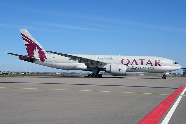 Qatar Airways Cargo Boeing 777-FDZ A7-BFA (msn 36098) AMS (Ton Jochems). Image: 913421.