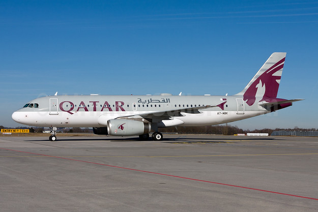 Qatar Airways Airbus A320-232 A7-MBK (msn 4170) MUC (Gunter Mayer). Image: 955330.