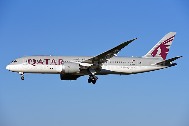 Qatar Airways Boeing 787-8 Dreamliner A7-BCR (msn 38336) ZRH (Rolf Wallner). Image: 942907.