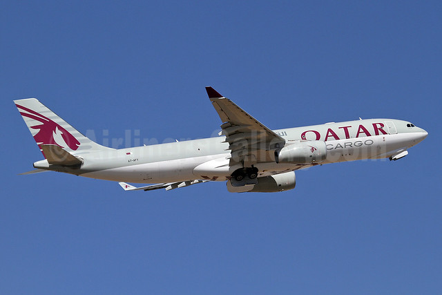 Qatar Airways Cargo Airbus A330-243F A7-AFY (msn 1386) JNB (Keith Burton). Image: 933678.