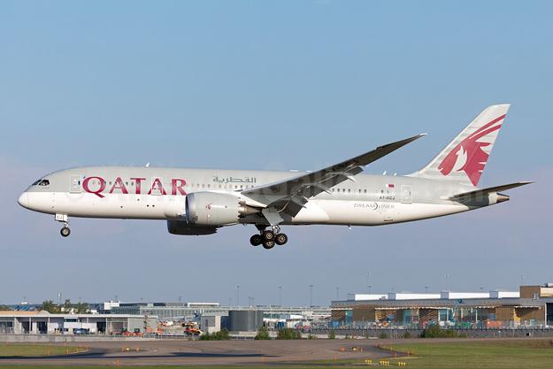 Qatar Airways Boeing 787-8 Dreamliner A7-BCJ (msn 38328) ARN (Stefan Sjogren). Image: 942906.