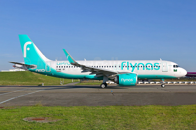 First Airbus A320neo for Flynas