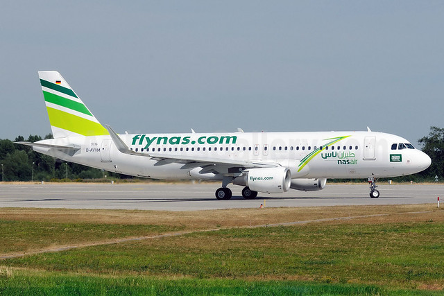 Nasair (Saudi Arabia) (flynas.com) Airbus A320-214 WL D-AVVM (VP-CXJ) (msn 5716) XFW (Gerd Beilfuss). Image: 913082.