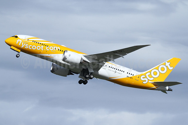 Scoot-flyscoot.com (Singapore Airlines) Boeing 787-8 Dreamliner 9V-OFI (msn 37125) PAE (Nick Dean). Image: 937701.