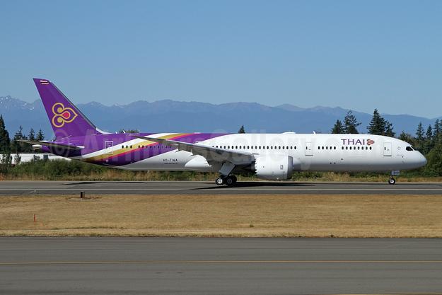 """""""Phatthana Nikhom"""", Thai's first Boeing 787-9 Dreamliner"""