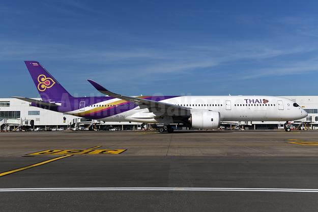 Thai Airways International Airbus A350-941 HS-THJ (msn 177) BRU (Ton Jochems). Image: 955511.