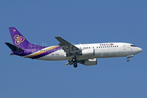 Last Thai 737-400, retired September 2, 2018 (TG288, Koh Samui-Bangkok)