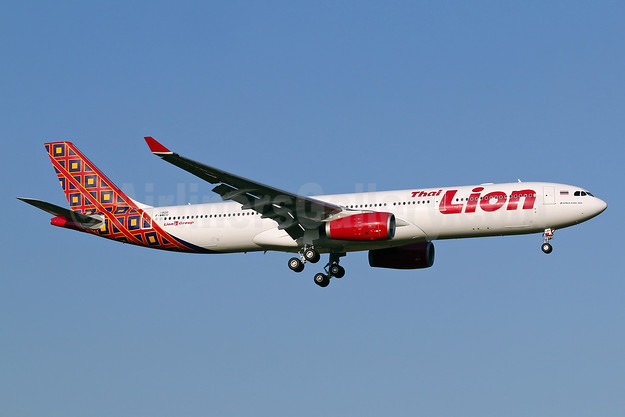 Thai Lion Air's first Airbus A330-300, delivered on November 21, 2017