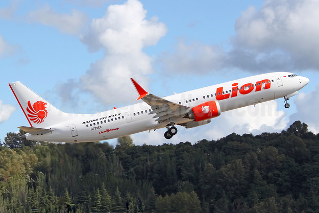 2nd MAX 9, delivered November 1, 2018 to Thai Lion Air