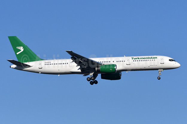 Turkmenistan Airlines Boeing 757-23A EZ-A010 (msn 25345) IST (TMK Photography). Image: 944521.