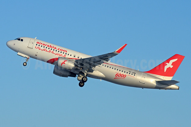 Flying the 6000th Airbus A320 Family aircraft