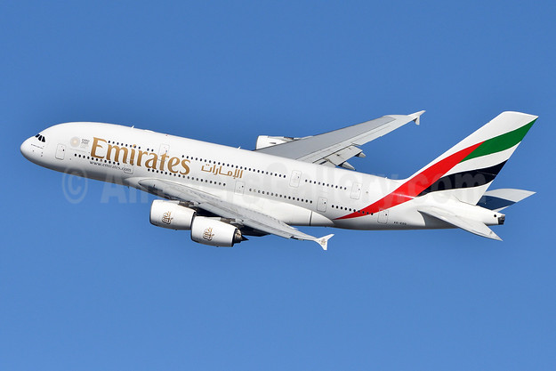 Emirates Airline Airbus A380-861 A6-EDD (msn 020) JFK (Fred Freketic). Image: 944350.