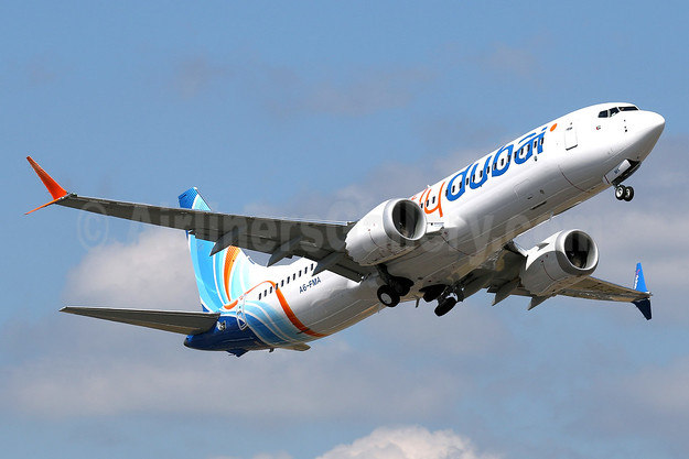 Flydubai's second Boeing 737 MAX 8