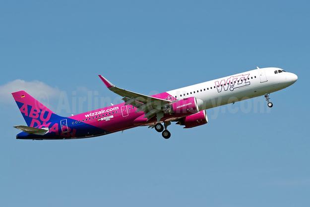 First aircraft for Wizz Air Abu Dhabi