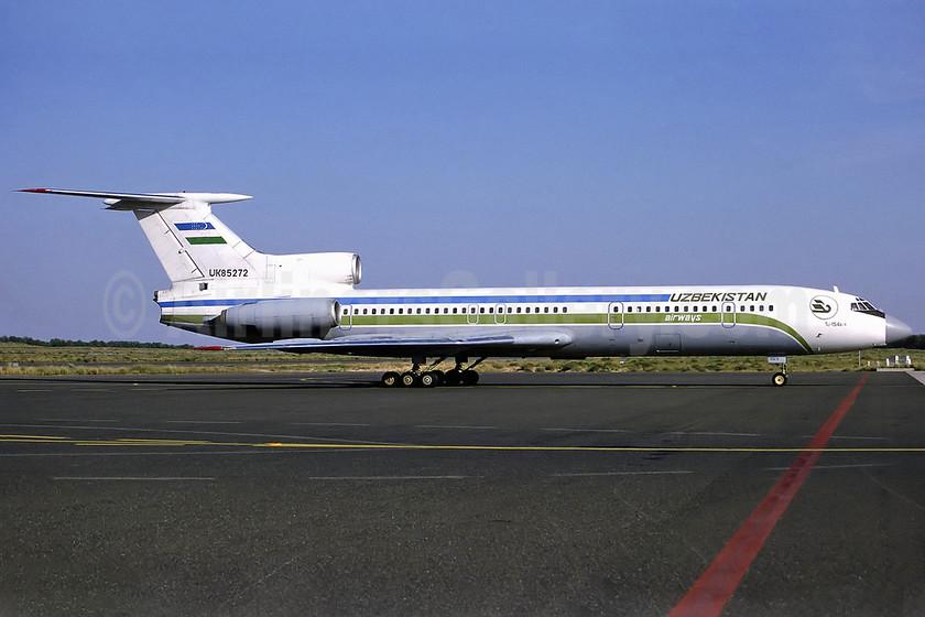 Uzbekistan Airways Tupolev Tu-154B-1 UK85272 (msn 272) SHJ (Perry Hoppe). Image: 911641.