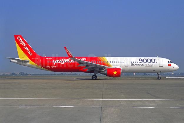 9000th Airbus Aircraft