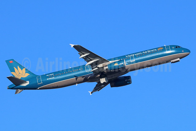 Vietnam Airlines Airbus A321-231 VN-A606 (msn 5709) NRT (Michael B. Ing). Image: 936078.