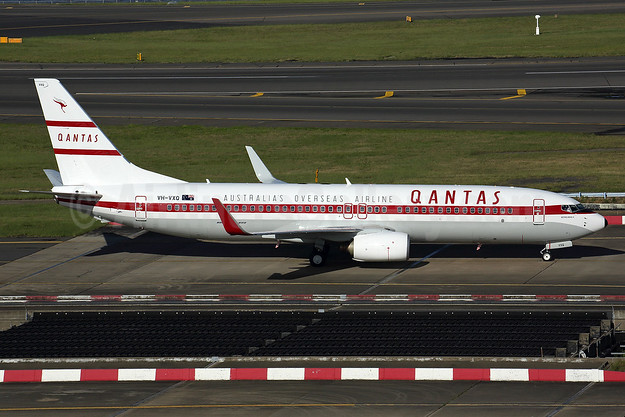 """Retro Roo II"" in the 1959 Boeing 707 livery"