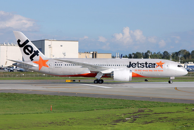 Jetstar Airways (Jetstar.com) (Australia) Boeing 787-8 Dreamliner VH-VKA (msn 36227) PAE (Nick Dean). Image: 913637.