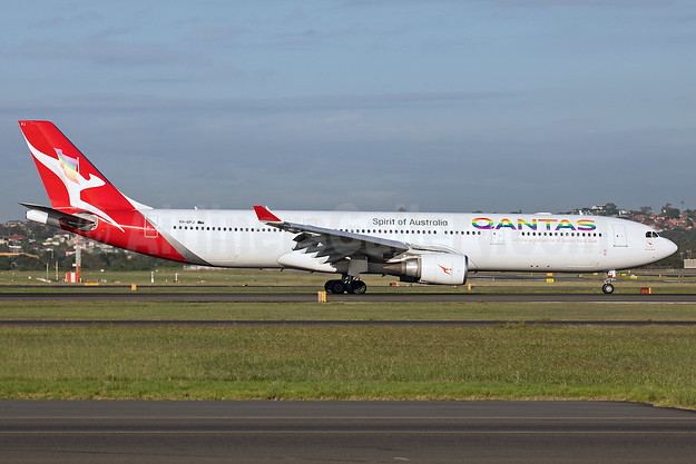"""Official airline partner of Sydney Mardi Gras"""