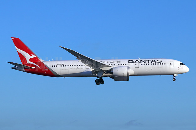 QANTAS Airways Boeing 787-9 Dreamliner VH-ZNB (msn 39039) LAX (Michael B. Ing). Image: 942566.