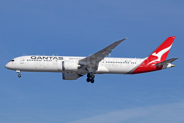 First QANTAS Boeing 787-9, delivered on October 17, 2017