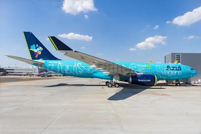"Azul's new 2015 ""Azul Viagens"" A330 scheme"