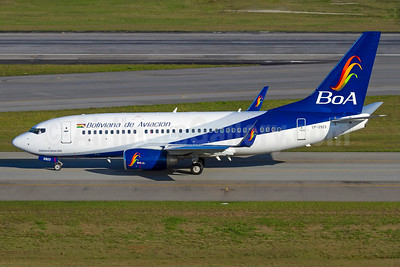 Boliviana de Aviacion-BoA Boeing 737-7Q8 WL CP-2923 (msn 30642) GRU (Rodrigo Cozzato). Image: 929508.