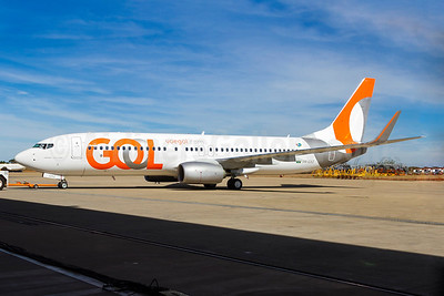 Gol's new 2015 livery, unveiled July 15 in Belo Horizonte