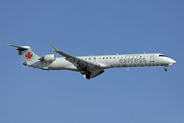 Air Canada Express-Jazz Aviation Bombardier CRJ705 (CL-600-2D15) C-GLJZ (msn 15051) YYZ (TMK Photography). Image: 908281.